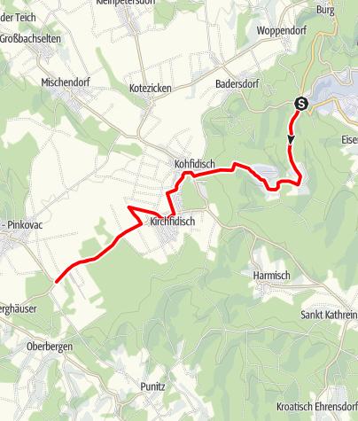 Karte / B59 Verbindungsradweg