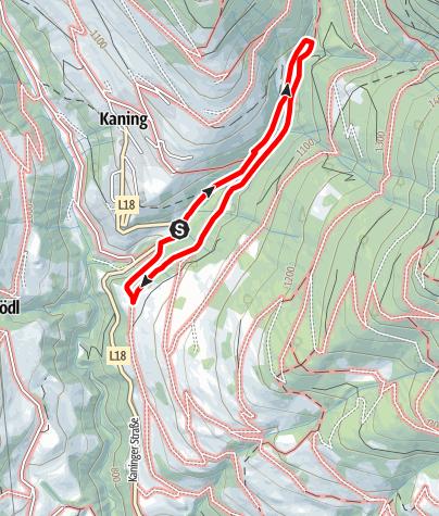 Karte / Kneipp- und Mühlenwanderweg