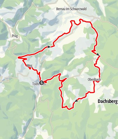 Karte / RouteWT 11 - Die Sportliche