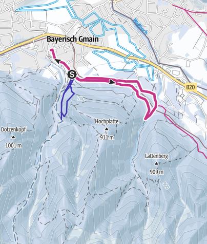 Karte / Wald-Idyll-Pfad am Maisweg