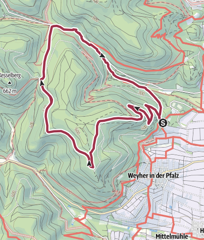 Map / Auf den Spuren König Ludwigs