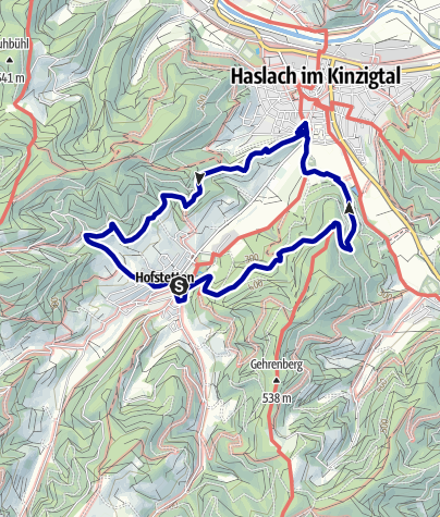 Karte / Hofstettens Kleine Runde