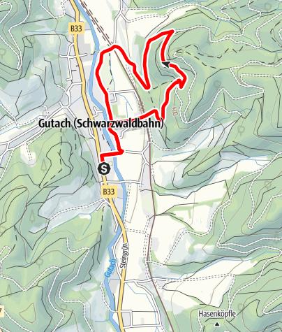 Karte / Gutach - Moserstein-Runde
