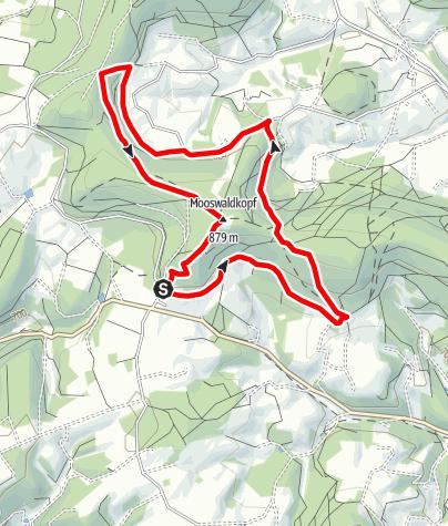 Karte / Hornberg/Lauterbach - Gedächtnishaus