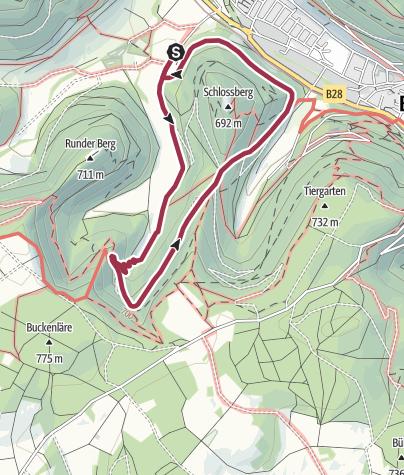 Map / 8 - Rund um den Wasserfall