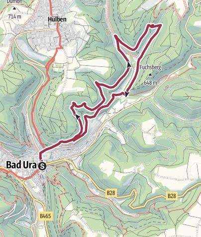 Karte / 3 - Rund um den Kaltentalweiher