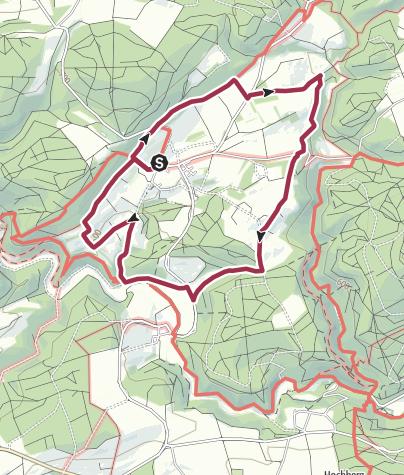 Karte / Biosphäre: Kleindenkmale rund um Erbstetten
