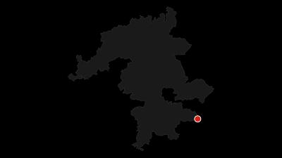 Karte / Besinnungsweg -  Wandererlebnis auf der Ehinger Alb