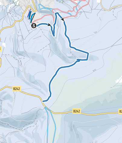 Karte / Verbindung Altenau-Stieglitzeck