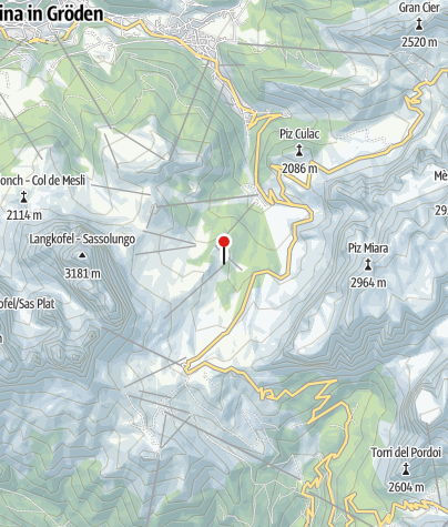 Cartina / Ciavaz-Hütte