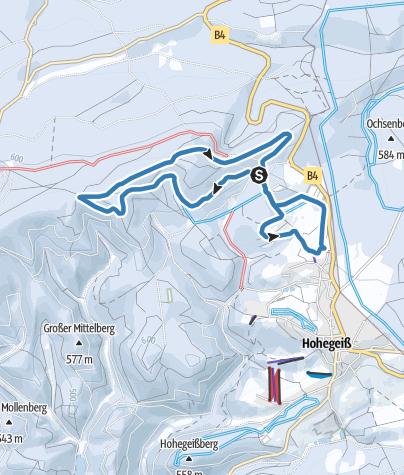 Karte / Große Ebersbergloipe