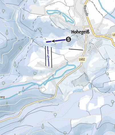 Karte / Rodelbahn am Weinberg