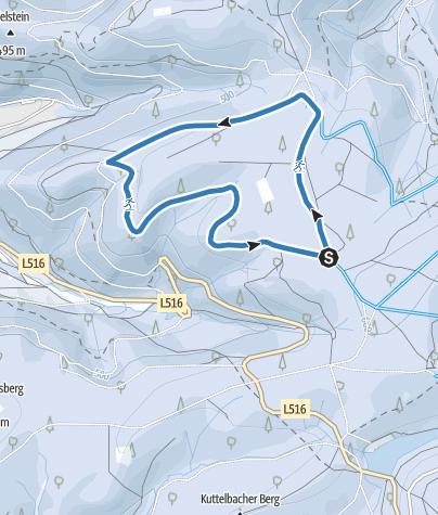 Karte / Schulbergloipe