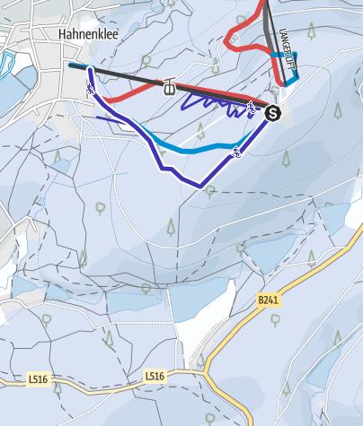 Karte / Rodelbahn am Bocksberg