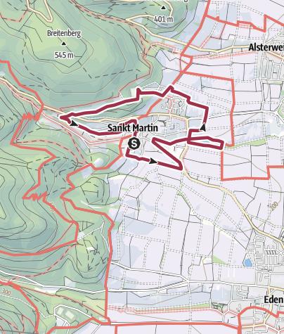 Map / Maikammer-Erlebnisland/EXPO-Rundweg/St. Martin