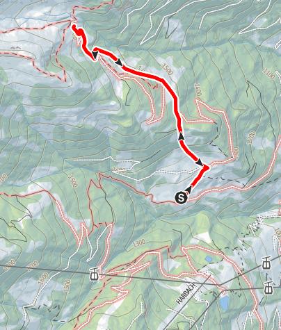 Karte / Großarl: Aualm