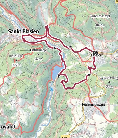Karte / Schluchten, Steige & Kultur