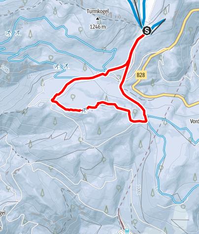 Mapa / Puchenstuben - Muckenhöhe