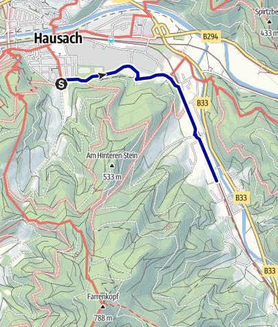 Karte / Zum Freilichtmuseum Vogtsbauernhof