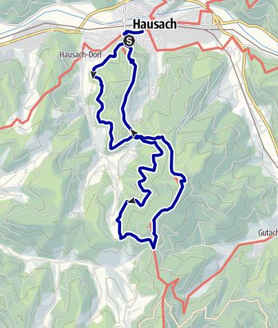 Karte / Zum Badischen Rigi