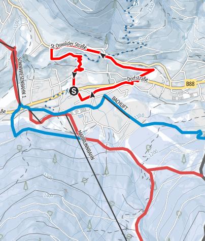 Karte / WW 06: Bad Kleinkirchheim - Kathreinrunde