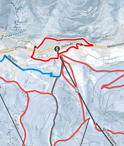 Karte / WW 04: Bad Kleinkirchheim - Römerbadrunde