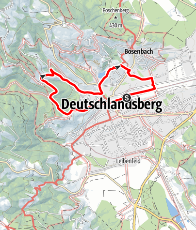 Karte / Scheidsbergrundweg - F4