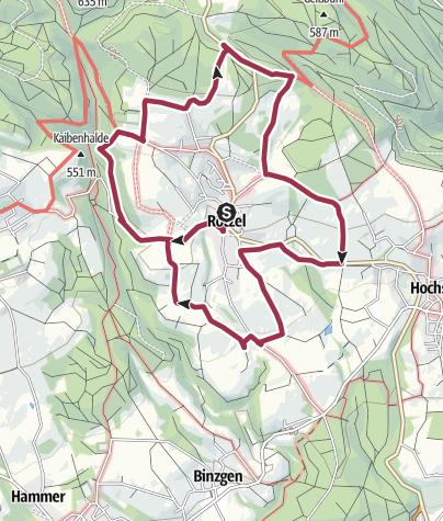 Karte / Laufenburg: Rund um Rotzel