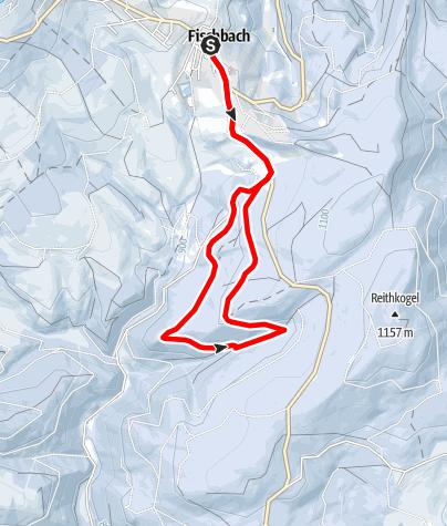 Karte / Durch die Fischbacher Winterwälder