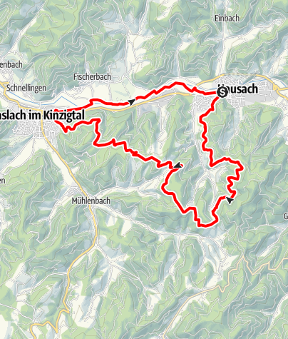 Karte / Hausacher Südtour