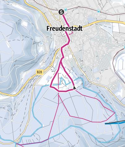 Karte / Freudenstadt - Sonnenbalkon Kienberg