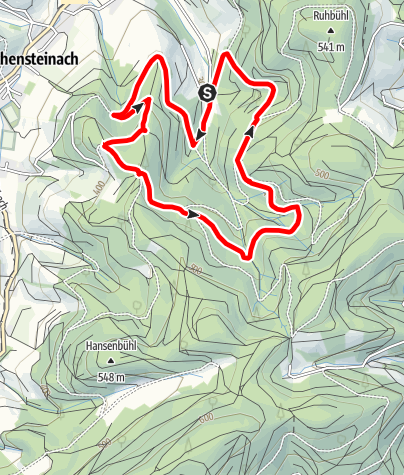 Karte / Tannenwald-Tour