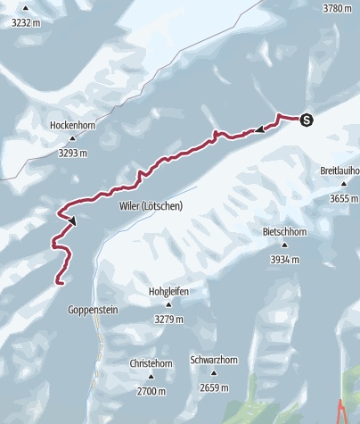 Map / Lötschental Panoramic Trail