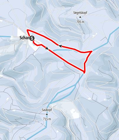 Karte / Mittlere Rundloipe