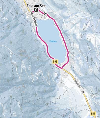Cartina / Giro panoramico invernale