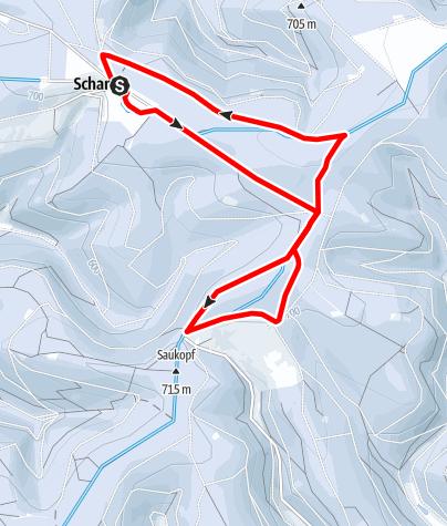 Karte / Rundloipe