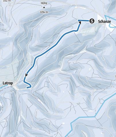 Kaart / Escheid-Loipe