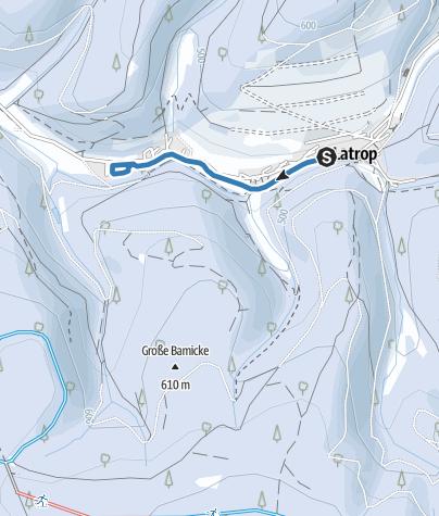 Kaart / Latroptal-Loipe