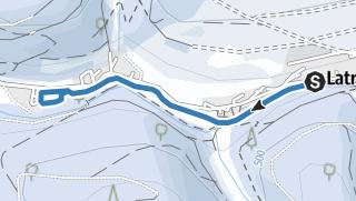 Karte / Latroptal-Loipe
