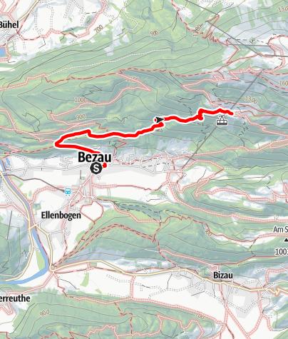 Karte / Bezau   Bezegg Bergvorsäß - Sonderdach