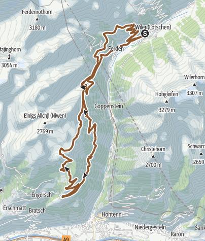 Karte / AllroundTour