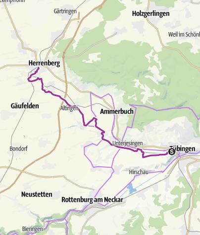 Map / Durch das schöne Ammertal