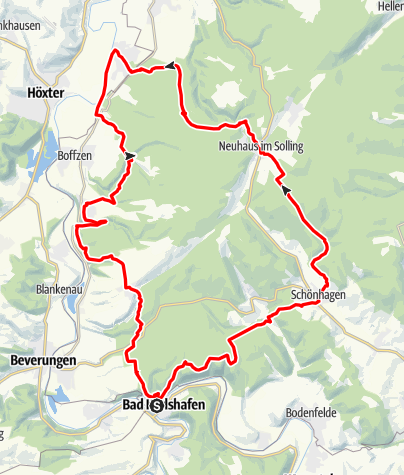 Karte / Tour 5: Drei-Länder-Blick