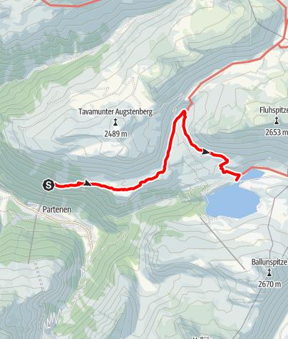 Karte / Wiegensee-Kopssee