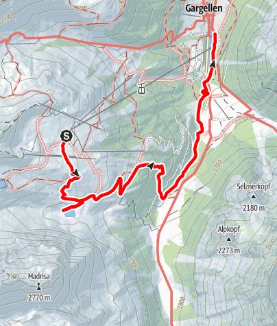 Karte / Genusstour Gandasee