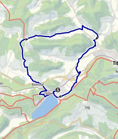 Karte / Unterweg durch Vierthäler