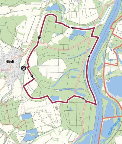 Kaart / Treidlerweg