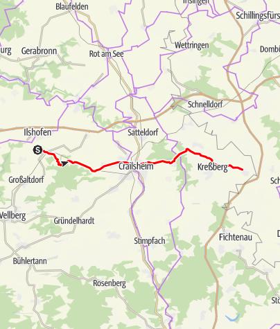 Karte / Abkürzung JuheTour