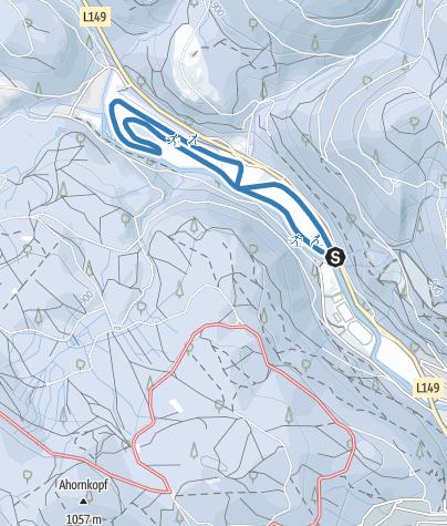 Karte / Schwimmbad-Loipe