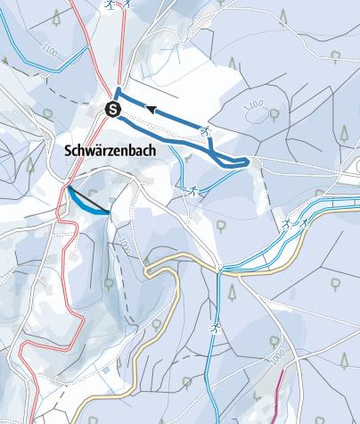 Karte / Hochebene-Spur II